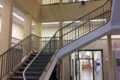 Treppe im Bing-Haus, Bild: Uli Kievernagel