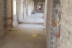 Das Dom-Hotel vor dem Abriss:  Nichts lässt mehr auf eine Nobelherberge schließen