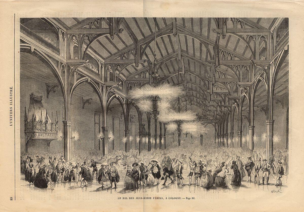 Ball im Gürzenich im Jahr 1861