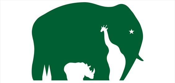Neben Elefant, Giraffe und Nashorn hat auch der Dom seinen Platz im Logo des Kölner Zoos.